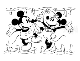 Small Picture Free Printable Mickey Mouse Coloring Pages For Kids
