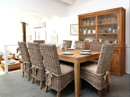wicker dining chair room chairs cushion with cushions