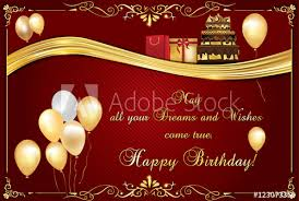 Happy Birthday Business Card Elegant Birthday Card Also For Print Happy Birthday