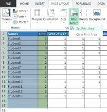 Create A Basic Attendance Sheet In Excel Laptop Sign Out Template ...