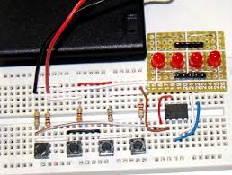 connecting multiple tact switches on a single input pin of a circuit