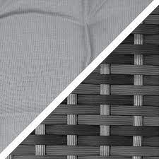 maze rattan half moon sofa set grey