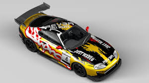 Toyota Supra Racing 3D Model