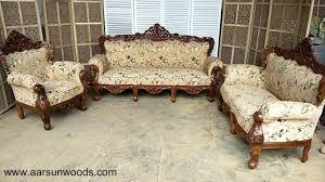 Royal Sofa Set Designs In India 40 Classic Sheesham Sofa Set Couch Hand Carved Wooden