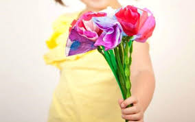 How To Make A Simple Paper Flower Bouquet 15 Easy Paper Flowers Crafts For Toddlers Preschoolers And