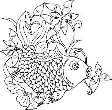 Small Picture Goldfish coloring page Goldfish free printable coloring pages