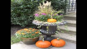 Outdoor Decorating For Fall Fall Decorating Ideas Outside Youtube