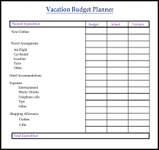 Meal Budget Planner Free Sample Printable Budget Planner Template Pdf Word