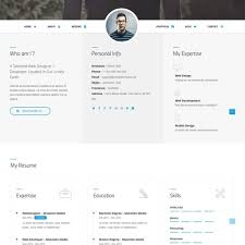 Resume Website Template Resume Website Templates Template Example Web Designer Creative 64