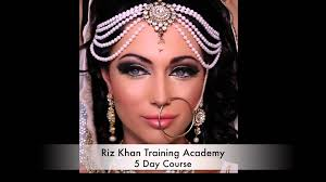 indian bridal stani arabic asian half hair makeup courses
