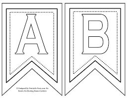 Printable Chevron Letters Free Printable Chevron Pennant Banner From Templates To