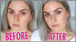no makeup makeup no foundation natural minimal tutorial