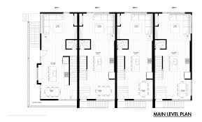 gallery emerson rowhouse meridian architecture modern row house plans style bhk plan design what contemporary small and designs eco meaning modular narrow