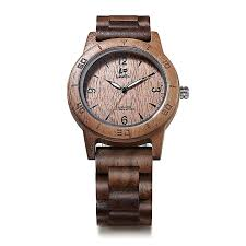 ev2075 mens wood watch for men handcrafted zebra sandal wood vintage wooden watches mens gifts