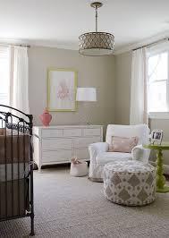 amazing tan c pink nursery design