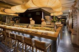 of with sushi bar interior design