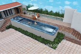Big Gunite Above Ground Pool Fiberglass Swimming Ws Buy Hot