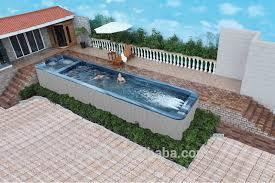 Big Gunite Above Ground Pool Fiberglass Swimming Ws Buy Hot