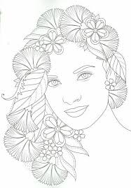 Pin by Myrna Morrison on 색칠공부   People coloring pages, Bird coloring pages,  Flower coloring pages