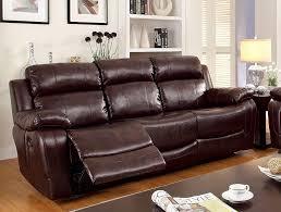 com furniture of america derick 2 recliner sofa kitchen dining