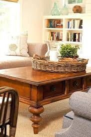 basket coffee table basket coffee table living room farmhouse with transitional vases baskets to put under