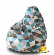 <b>Кресло</b>-<b>мешок Груша Пазитифчик Ромб</b> (жаккард) - купить в ...