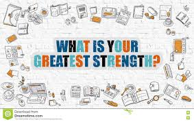 what is your greatest strength in multicolor doodle design stock what is your greatest strength in multicolor doodle design
