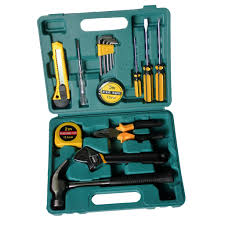 16Pcs Household Tool Kit Home Repair Hand Set with Storage Box - buy from  50$ on Joom e-commerce platform