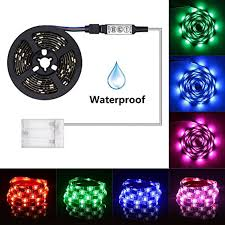 Celebrations Led Rope Light Led Light Strip Battery Powered Xyop 2m 6 6ft Waterproof