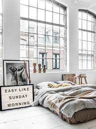 industrial design ideas for home. chic loft bedroom with minimalistic industrial decor colorful home design ideas for