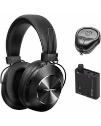 pioneer bluetooth headphones. pioneer stereo wireless bluetooth over-ear headphones, black (se-ms7bt-k headphones n