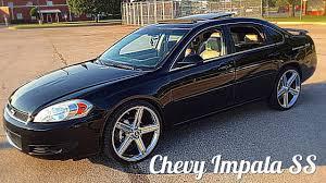 2008 Chevy Impala SS On 22's Irocs Walk Around - YouTube