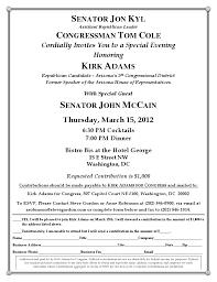 political fundraiser invite sample invitation letter for fundraising dinner images