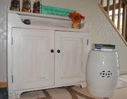 white washed furniture. DIY Whitewashed Cabinet (via Jennaburger) White Washed Furniture