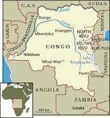 "critical study about the colonialism in ""heart of darkness  congo s map"