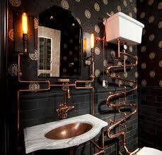 View in gallery steampunk bathroom