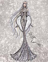 Hayden Williams Fashion Illustrations Dazzling Divas By Hayden