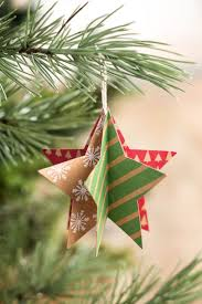 Paper Christmas Tree Ornaments Best 25 Paper Ornaments Ideas On Pinterest Snowflake Ornaments