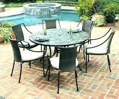 full size of castlecreek complete patio dining set 6 pieces outdoor sets with swivel chairs round