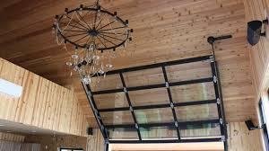 glass garage doors kitchen. Entertainment Room With Overhead Glass Garage Door Contemporary-shed Doors Kitchen U
