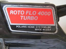 roto flo painter. old stock polaris roto flo 4000 tubro # 214-500 airless paint sprayer | ebay painter