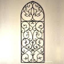 decorative iron wall decor alluring wrought iron wall decor ideas for exemplary outdoor iron design inspiration