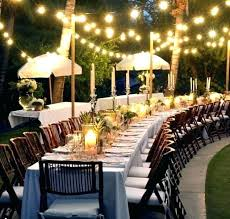 backyard party decorations easy d cor ideas lifestyle decorating for dinner on a budget