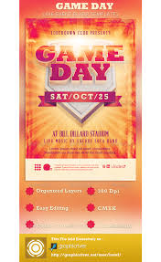 event flyer templates best business template game day event flyer template psdbucketcom yps1wl62