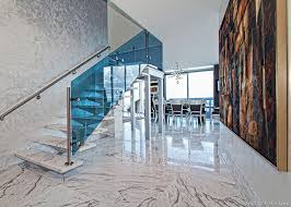 Contemporary Marble Stairway