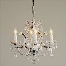 image of small chandelier for bathroom