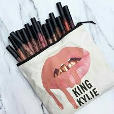 makeup lipstick and kylie jenner image