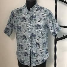 Reyn Spooner Size Chart Reyn Spooner Tailored Fit Hawaiian Shirt S