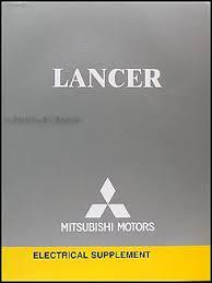 2005 mitsubishi lancer wiring diagram manual original