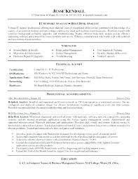 Sample Help Desk Analyst Resume Best Help Desk Analyst Job Description Resume Creator Simple Source